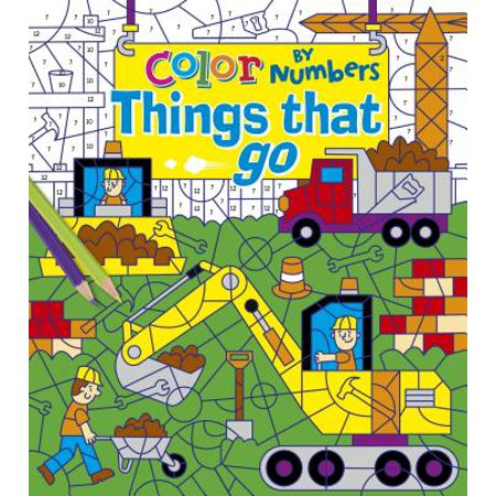 Color by Numbers: Things That Go](Color By Numbers Online Halloween)
