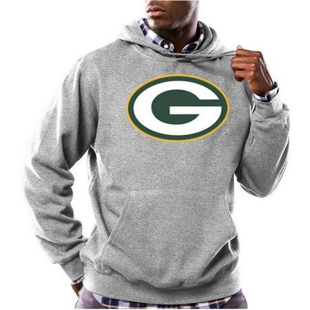 NFL Big Mens Green Bay Packers Tek Patch Fleece Hoodie by