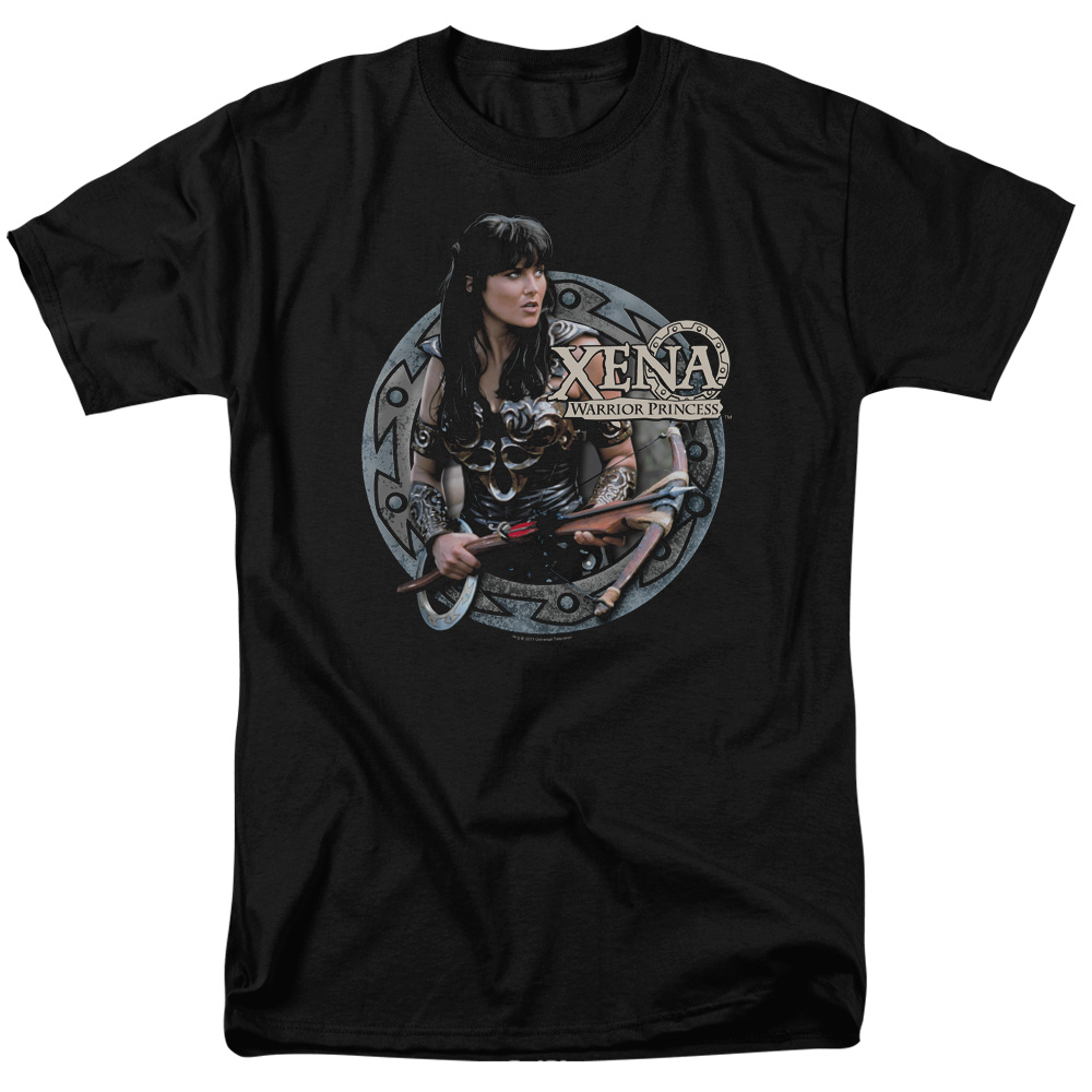 Xena Warrior Princess The Warrior Mens Short Sleeve Shirt
