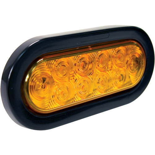 Blazer LED Oval Stop, Turn and Tail Light Kit, Amber