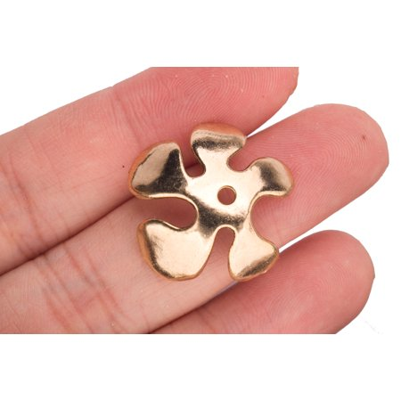 Abstract Petal Beads Cap Gold-Plated Size: 25x8mm for $<!---->