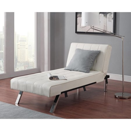 Emily Futon With Chaise Lounger Multiple Colors Walmart Com
