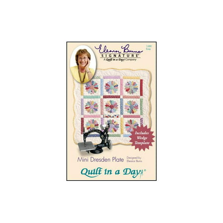 Quilt In A Day Mini Dresden Plate Ptrn & Template (Mini Sweater Pattern)