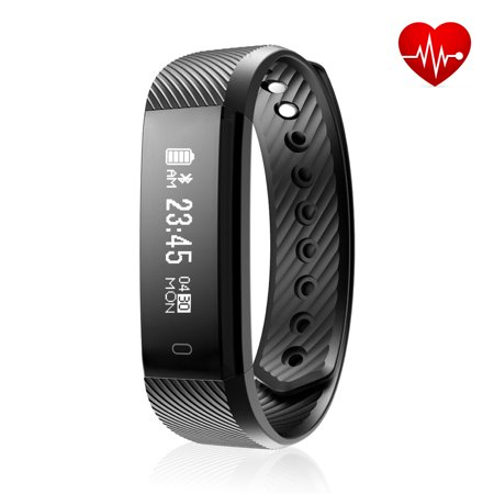 Fitness Tracker, Diggro Smart Bracelet Activity Tracker with Heart Rate  Monitor IP67 Waterproof Pedometer Sleep Monitor Call/SMS Reminder Sedentary