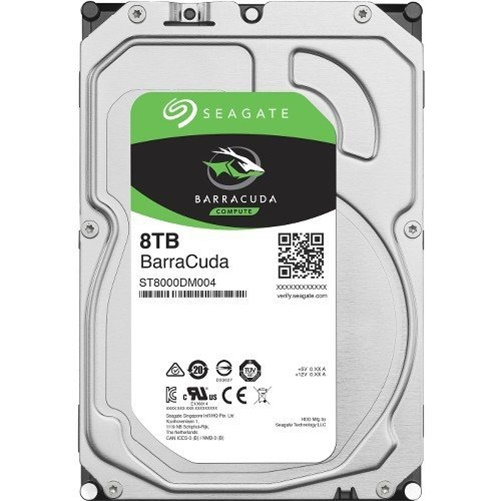 Seagate BarraCuda 8TB 5400RPM SATA 3.5 HDD