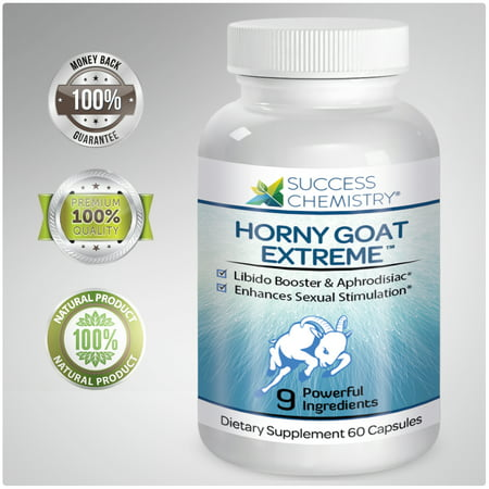 Horny Goat Weed for Women - Extreme Libido & Estrogen