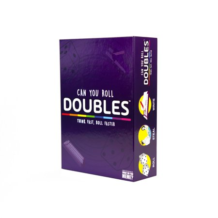 Doubles! Party Game by What Do You Meme? Doubles is a fast-paced and fun, family-friendly game from What Do You Meme! This game was designed for ages 12+ and the content is completely customizable (read: safe for all ages) so it?s perfect to play with the whole family.