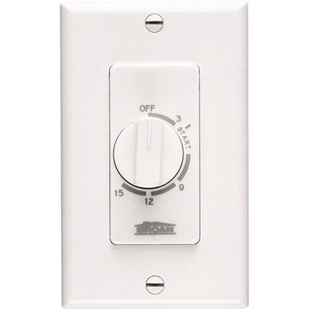 Broan 61W 15 Minute Timer Switch - White