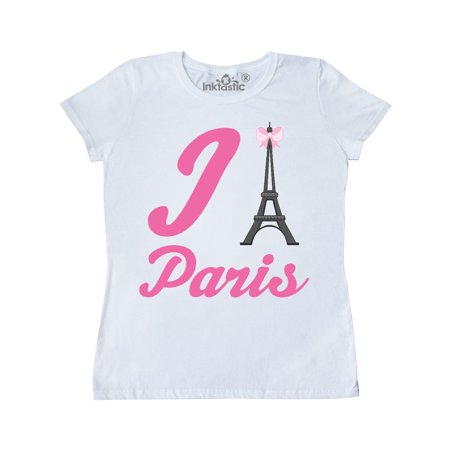I Love Paris Eiffel Tower Women's T-Shirt (Celine Paris Tee)