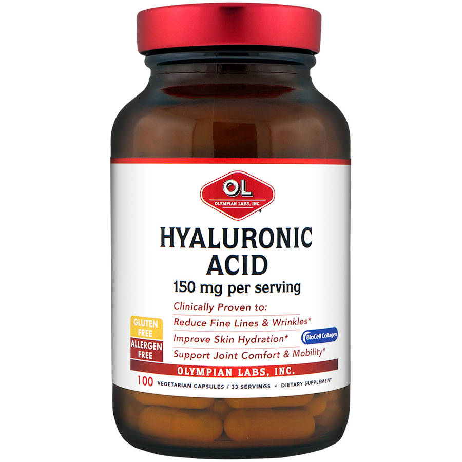 Olympian Labs-Hyaluronic Acid, 150mg 100ct