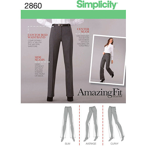 SIMPLICITY MISSES AND MISS PETITE PANTS-8,10,12,14,16
