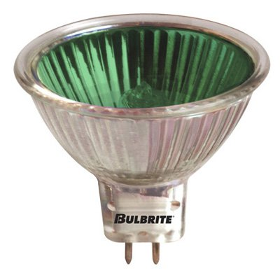 Bulbrite 50W Dimmable Halogen Colored Light Bulb - 8 pk.