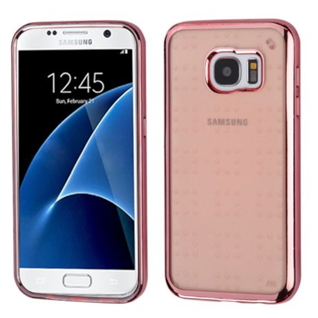 insten tpu cover case for samsung galaxy s7 rose gold. Black Bedroom Furniture Sets. Home Design Ideas