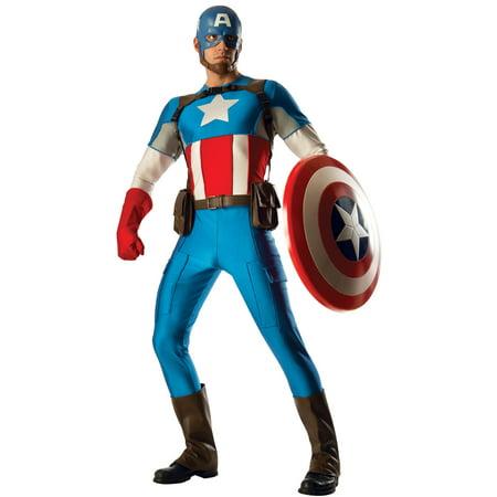 Adult Collector Captain America Marvel Universe Costume