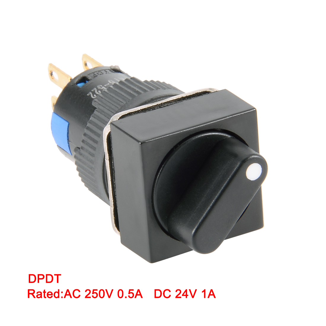 2//3 Position Latching Rotary Switch 24V//12V for Automatic Control Circuit