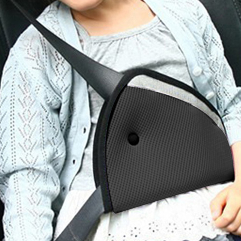 Child Safety Cover Shoulder Harness Strap Adjuster Kids Seat Belt Clip On Sale