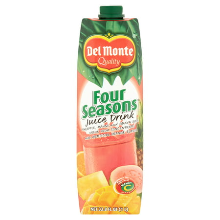 Del Monte Four Seasons Juice Drink 33 8 Fl Oz