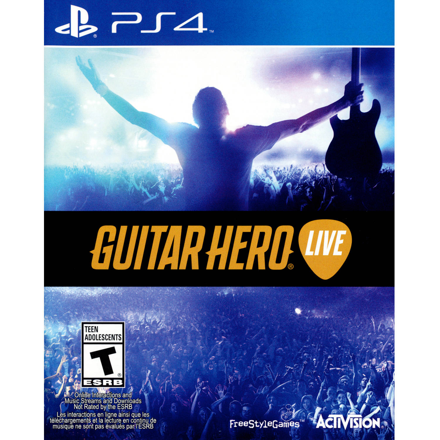 Guitar Hero Live Game Only (PS4) - Pre-Owned