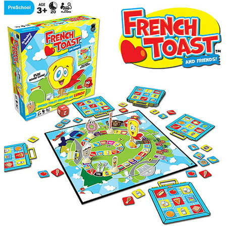 French Toast Forgets His Lunch! Game](Halloween French Games)