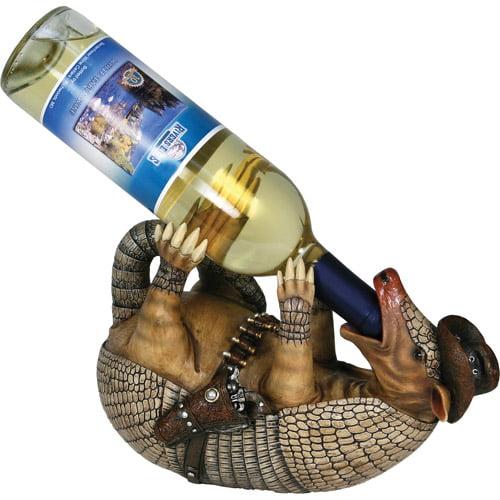Rivers Edge Products Armadillo Wine Bottle Holder