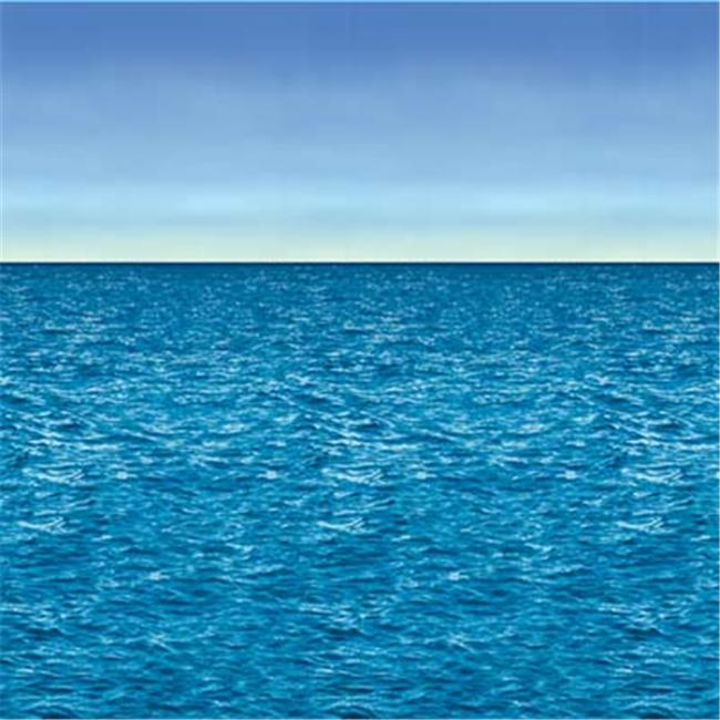 Ocean & Sky Backdrop Party Accessory (1 count) (1/Pkg)