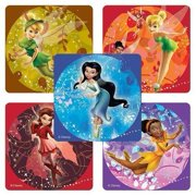 Disney Tinkerbell Character Stickers - Party Favors - 75 per Pack