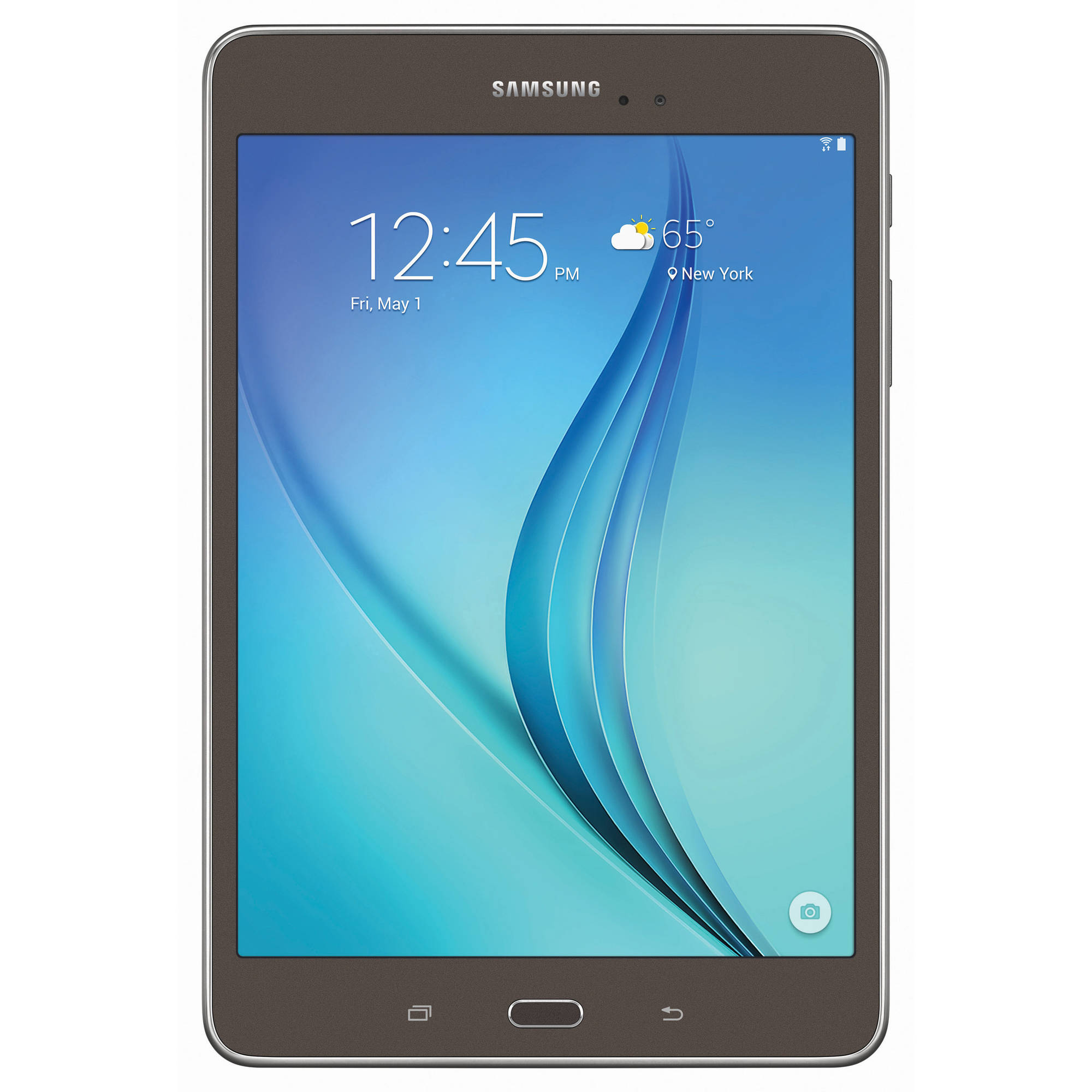 "Samsung Galaxy Tab A 8"" Tablet 16GB, Smoky Titanium Refurbished"