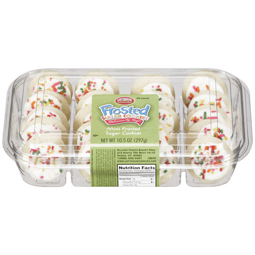 Lofthouse Mini Frosted Sugar Cookies, 20ct
