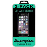 3 Tempered Glass Screen Protector For Apple Iphone 6S Plus