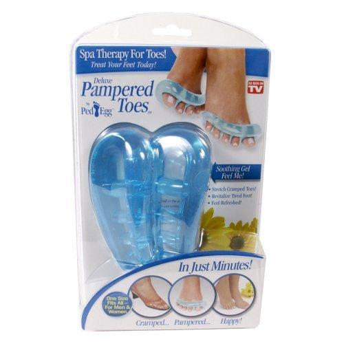 Telebrands Deluxe Pampered Toes!