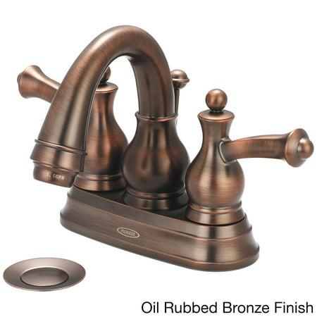 pioneer bellaire series 3bl100 double handle bathroom faucet bronze