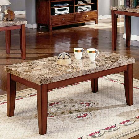 Steve Silver Montibello Marble Top Coffee Table
