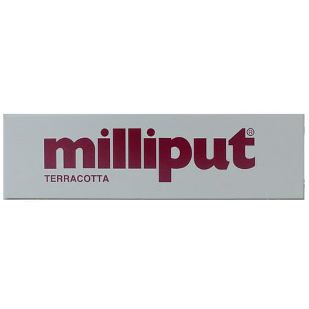 2-Part Self Hardening Putty, Terracotta, 2 part epoxy putty By Milliput
