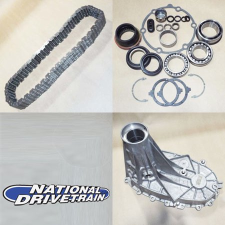 - TRANSFER CASE REAR CASE HALF CHAIN BEARING REBUILD KIT - NV263XHD NP263XHD