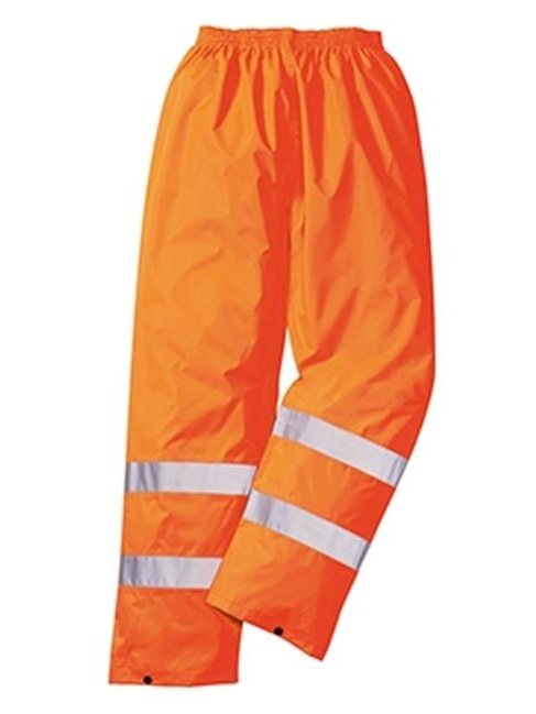 Portwest H441 3XL Hi-Visibility Light Rain Trousers, Orange - Regular