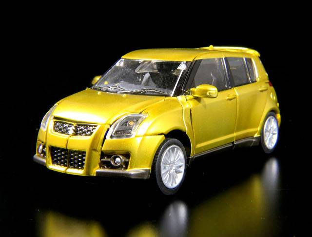 Transformers Alternity A-03 Suzuki Swift Gold Bug by Takara