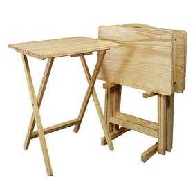 Mainstays 5 Piece Folding Tray Table