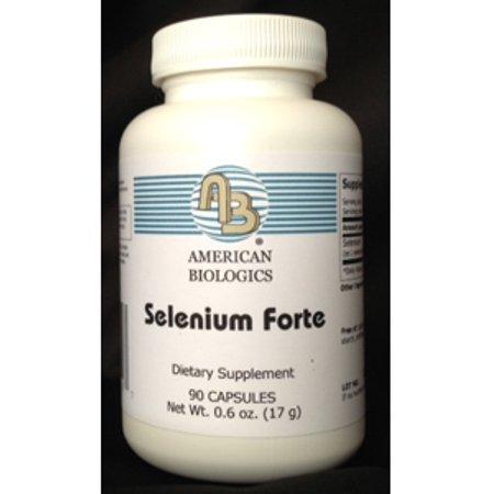 American Biologics  Selenium Forte 200 Mcg 90 Caps