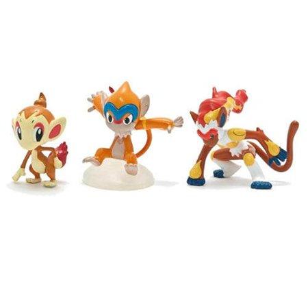 Pokemon Trainers Choice 2 Mini Figure 3 Pack Treecko Grovyle And Sceptile