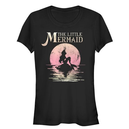 The Little Mermaid Juniors' Ariel Sunset T-Shirt