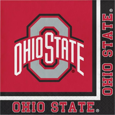 Creative Converting Ohio State University Napkins, 20 ct](Ohio University Stars Halloween)