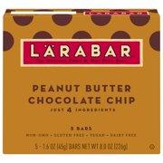 Larabar, Peanut Butter Chocolate Chip, 5 Ct, 8.0 Oz