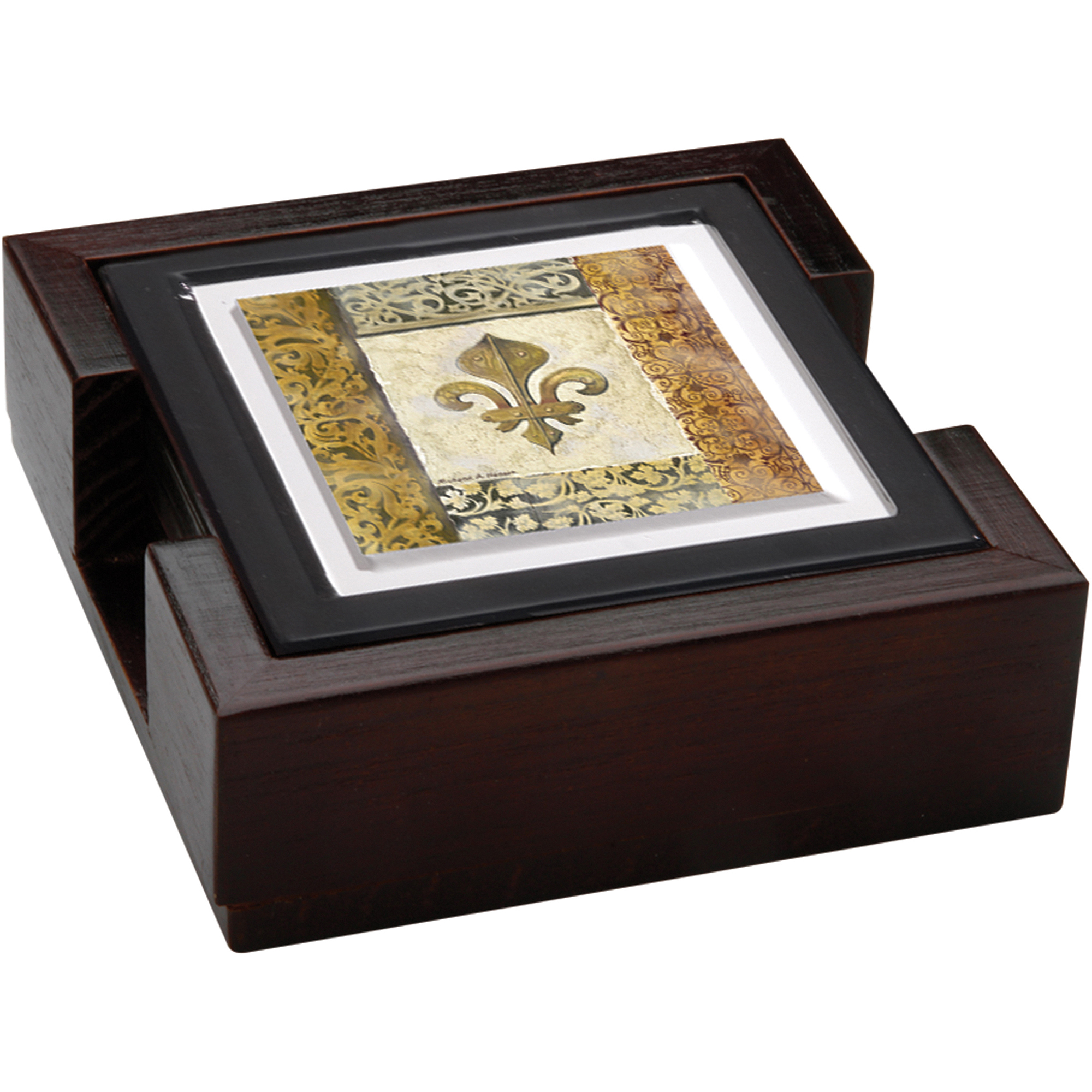 Thirstystone Ambiance Gift Set, Fleur de Lis Element