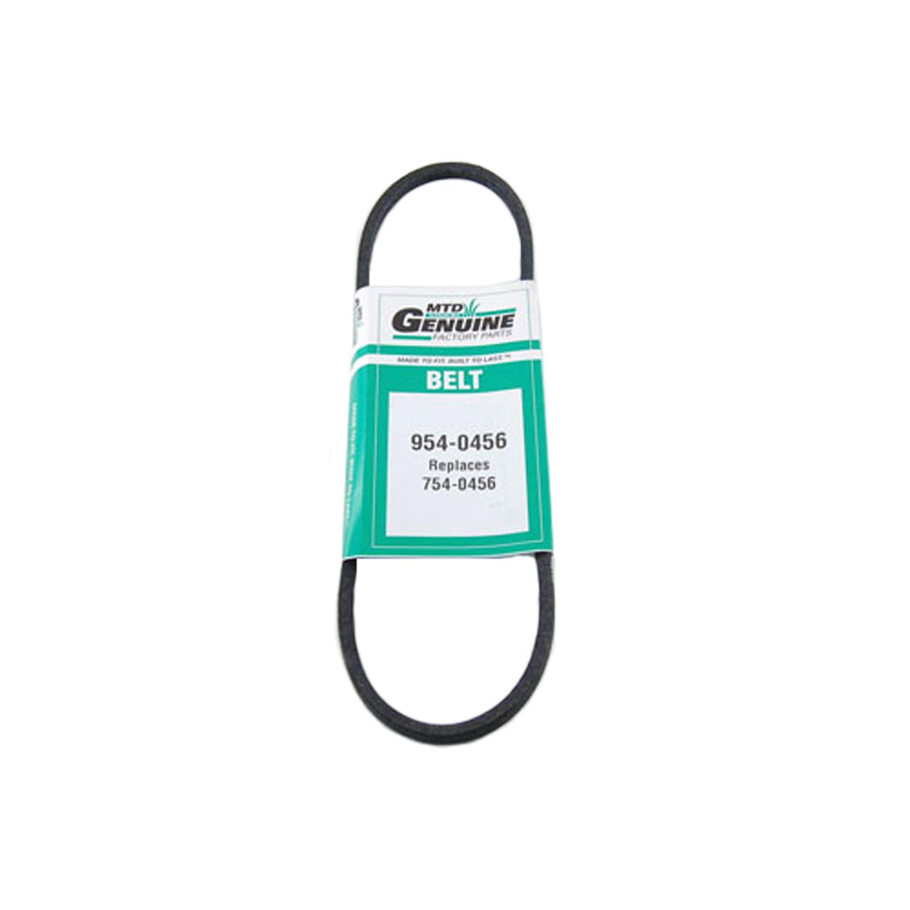 Genuine OEM MTD 754-0456 954-0456 Replacement Belt 3//8 X 29