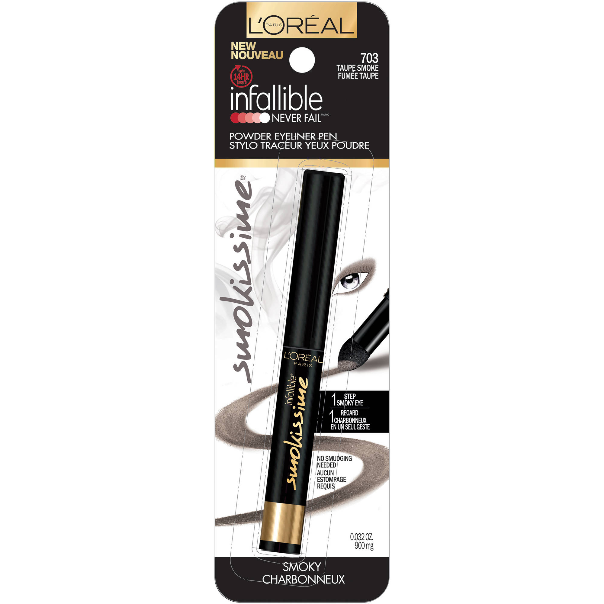 L'Oreal Paris Infallible Smokissime Never Fail Eyeliner