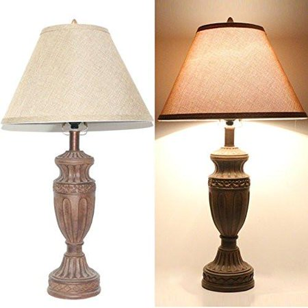 Tone Bronze Traditional Table Lamp