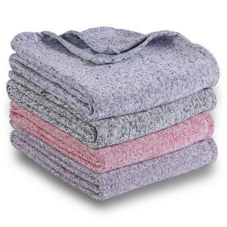 Mainstays Sweater Fleece Throw Blanket, 50