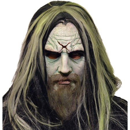 Rob Zombie Latex Mask Adult Halloween - Rob Zombie Halloween Pumpkin Mask