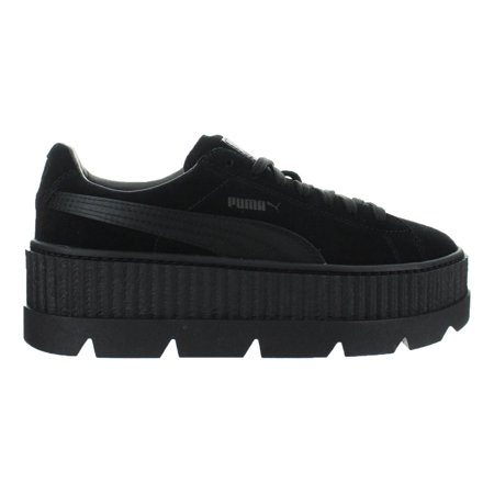 brand new a121b e1fc6 Womens Puma x Fenty By Rihanna Suede Cleated Creeper Puma Black 366268