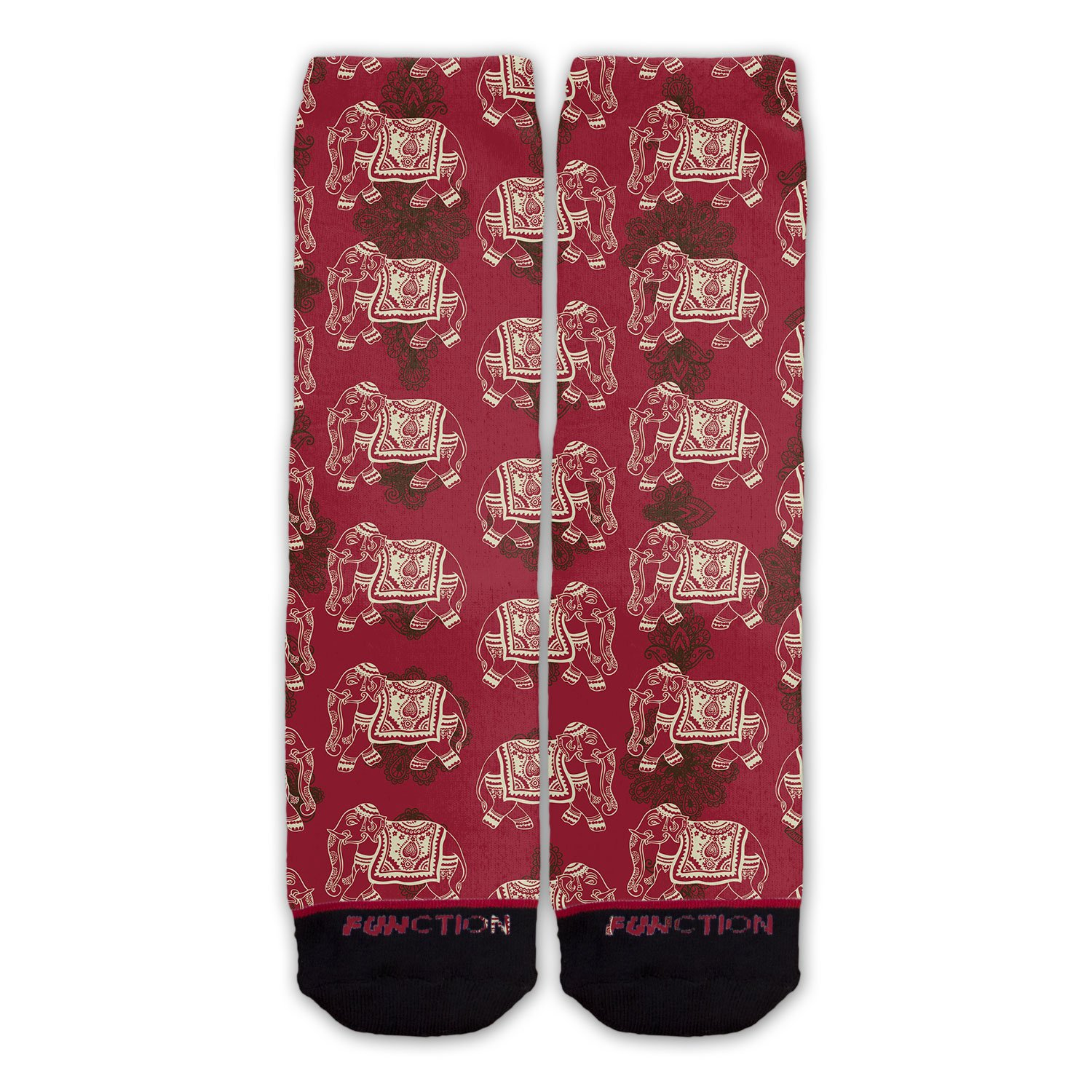 Function - Indian Elephant Pattern Fashion Sock